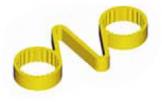 Индикатор колесных гаек с удерживающими пружинами  66022-71